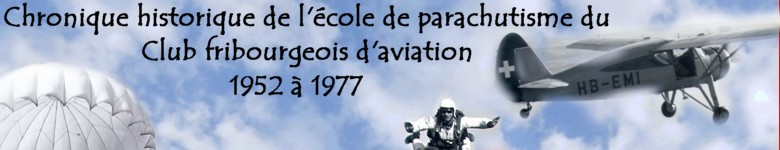 Ecole de parachutisme - Club fribourgeois d'aviation