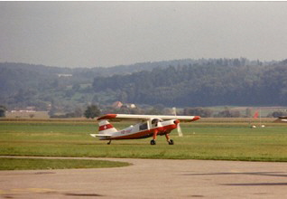 Do-27 et Blaise Perrenoud